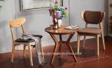 Mesa de jantar de madeira maciça e mesa de jantar com caixa quente para uso doméstico (LL-BC0087)