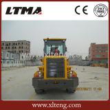 Caricatore della rotella da 2 tonnellate con il motore e la barra di comando potenti di Weichai