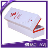 Box Wine Paper Made Red Hand Luxury Packaging