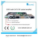 이중 전력 공급을%s 가진 CATV RF Equippmed를 가진 1/4의 포트 EDFA
