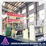 Zhejiang 최고 좋은 품질 3.2m 두 배 S PP Spunbond 짠것이 아닌 직물 기계