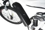"""白いカラー27.5 """"完全な中断電気マウンテンバイク"""
