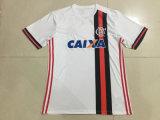 Flamengoの17/18離れた白いサッカーのユニフォーム
