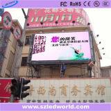 Alta visualización al aire libre fija a todo color de la cartelera de la definición SMD LED para hacer publicidad (P6, P8, P10, P16)