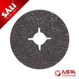 Sali Disque fibre abrasive au carbure de silicium pour le polissage du métal