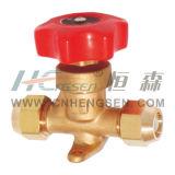 Válvula de mão / Válvula de desligamento / Frigeração Parte / Flare Tipo Válvula