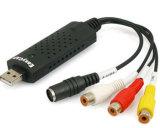 Easy Cap USB DVR para gravação de captura de vídeo de áudio de 1 canal