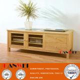 Natürlicher Tisch des Farbe Fernsehapparat-Schrank-/Fernsehapparat (HW009)