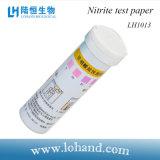 Papier réactif Lh1013 de nitrite de l'essai 100strips/Box de qualité de l'eau de matériel de laboratoire de Lohand de prix bas