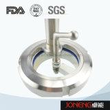 Aço inoxidável grau sanitárias Visor com LED (JO-SG1001)