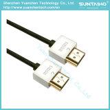 Раковина металла цвета высокоскоростного кабеля HDMI двойная для TV/Computer/HDTV