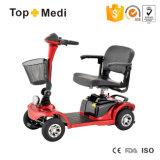 Autoped van de Zetel van Topmedi de Vouwbare Afneembare Gehandicapte Krachtige Vierwielige Elektrische