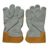 En 388 Anti-Scratch коровы Split кожаный защитный вырезать устойчив работника рабочие перчатки
