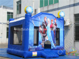 Juegos congelados al aire libre de princesa Inflatable Bouncer Castle Sports