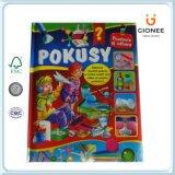 Libri educativi di Casebound di stampa di carta per i bambini