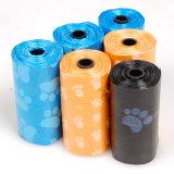 Sacchetto biodegradabile di Poop del cane su rullo