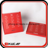 Oficina personalizado de impresión offset de alimentación Embalaje Caja calendario de escritorio