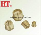 Encaixe Hex da bucha da tubulação de bronze (mip*fip)