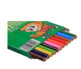 Crayon en pastel de la Chine de couleurs en pastel en gros du crayon 12 dans le cadre