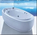 1800mm Elipse Free Standing Jacuzzi con CE y RoHS (A-8312)