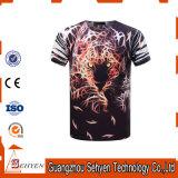 Camiseta ocasional de la funda del cortocircuito de la impresión de la manera 3D del verano