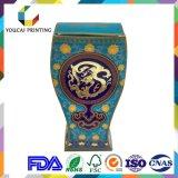 Boîtes-cadeau élégantes de forme irrégulière d'OEM avec le logo gravé en relief