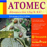 Insecticide agrochimique abamectine