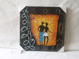 Pintura de pendurado de lona decorativa de homens e mulheres de amor