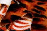 Franela impresa del poliester/tela coralina del paño grueso y suave - 14001-6 2#