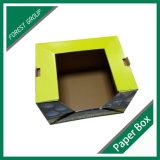 Caixa ondulada de empacotamento de dobramento