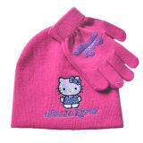 Шлем шаржа девушки связанный животным (JRK095)