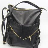 De zwarte Handtassen van Pu voor de Toebehoren van de Manier van de Zak van de Schouder van Vrouwen