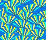 O sumário projeta a tela de seda da impressão para a senhora Pingamento