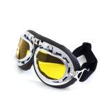 高品質の多彩なバイザーが付いている開いた表面ヘルメットのゴーグル