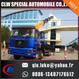 Shacman 12 Wheeler Cargo Chassis avec Chianese Brand Truck Crane