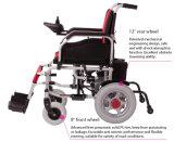 医学のヘルスケア装置Foldable無効力の電子車椅子はサウジアラビアに値を付ける