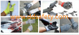 Ddsafety 2017 перчаток работы латекса супер мягкого анти- отрезока упорных