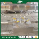 Maquinaria de rotulagem da luva plástica semiautomática do Shrink dos frascos