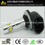 phare automatique de lampe de regain de la haute énergie DEL de lumière de véhicule de 12V 50W DEL avec le faisceau léger de Xbd de CREE du plot H1/H3