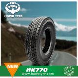 Carro del neumático del neumático bajo ancho y neumático no reutilizables 385/65r22.5 del acoplado
