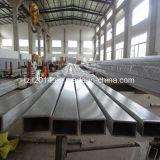 Aço inoxidável tubos quadrados 304