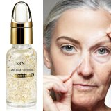 24k Gold Pure Foil Essence Serum Face Lift Anti-Aging Whitening Óleo Hidratante