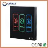 De Schakelaar van de Aanraking van het Signaal van de Deur van de Spaarder van de Energie van het Hotel van Orbita voor Levering voor doorverkoop