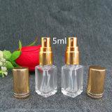 5ml rimuovono la bottiglia di vetro rotonda dello spruzzo di profumo della bottiglia cosmetica dello spruzzo