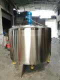 Réservoir de pasteurisation du lait pasteurisateur pasteurisateur cuve de mélange par lot