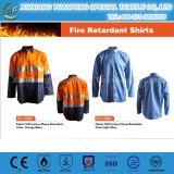 パフォーマンスFrの綿の不足分の袖作業ワイシャツ
