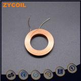 Bobine mince magnétique en plastique de câblage cuivre d'enroulement fait sur commande