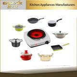 Cocina infrarroja Es-3101 C Cooktop de cerámica de la aprobación del GS A13