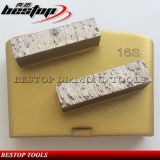 Malende Plaat van de Diamant van het Trapezoïde van de Vloer van de Schoen van het metaal de Malende Concrete