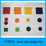 Composto del magnete di gomma e gomma di protezione dell'ambiente di figura del triangolo magnetica
